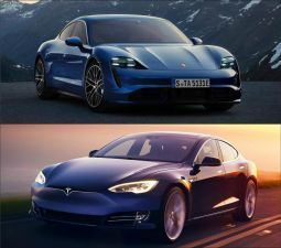 EV Wars Porsche vs Tesla