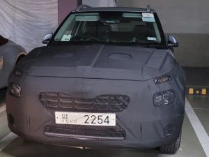 Facelifted Hyundai Venue Spotted Testing For The First Time