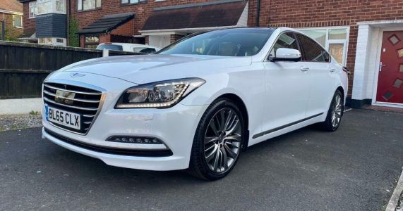 This Depreciation-Hit Hyundai Genesis Is One Of Only 50 UK Cars